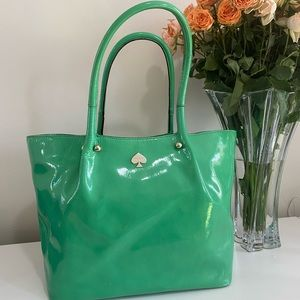 Kate Spade 100% Cow Leather Patent Bag